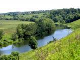 река Упа в окрестностях Одоева
