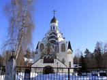Клязьма Спасская церковь