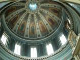 Свод Казанской церкви в усадьбе