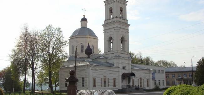 собор Петра и Павла в Тарусе