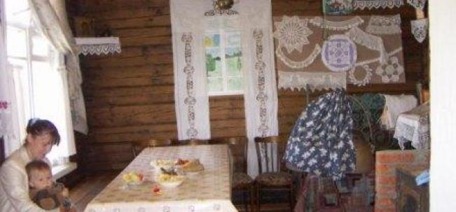 """В музее """"Старообрядческая изба"""""""