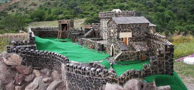 средневековая крепость Фуна
