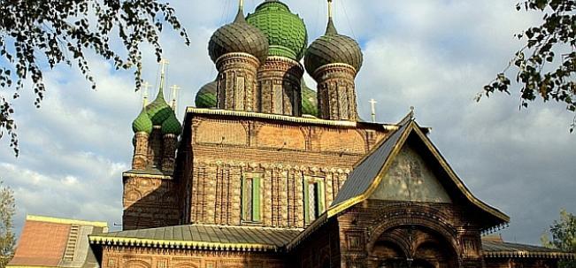 Церковь Иоанна Златоуста в Толчково