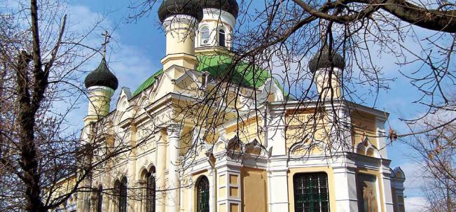Симферополь Всехсвятская церковь
