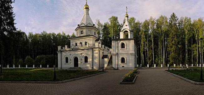 Всехсвятская церковь в Дубне