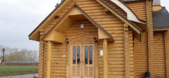 Никольская церковь в Рыбном
