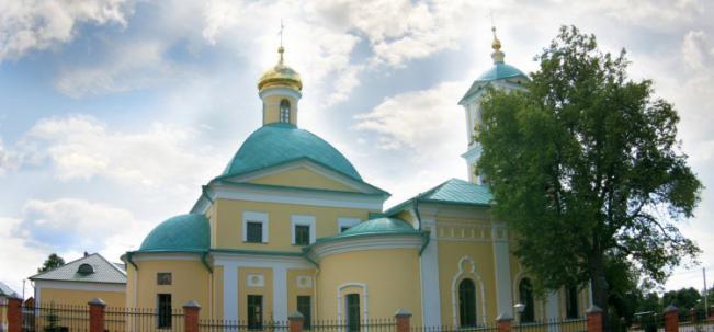 Никольское Никольский храм