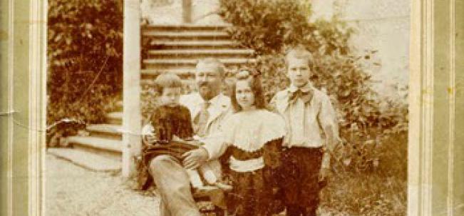 Савва Морозов с детьми
