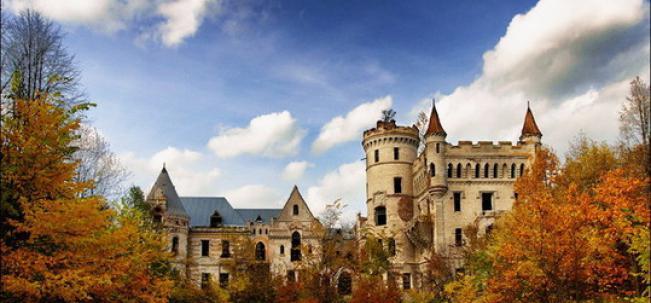Муромцево замок Храповицкого