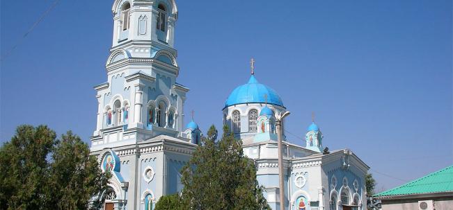 Саки Ильинская церковь