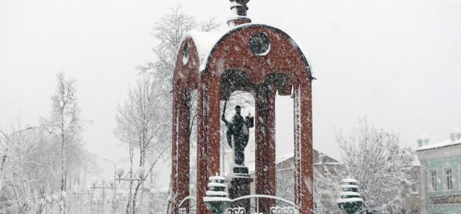 Скульптура Николая Чудотворца