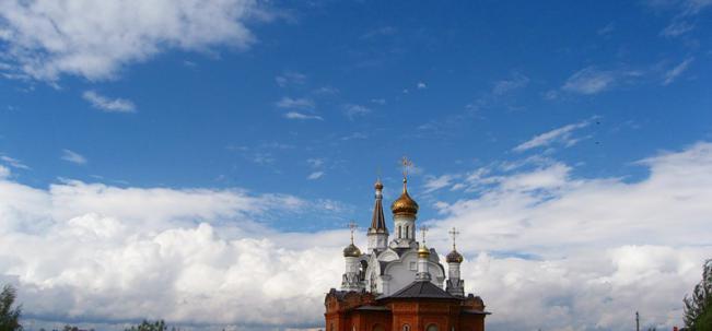 Белое Озеро церковь Всех Святых