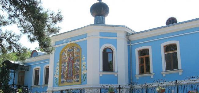 Тополевка Свято-Параскевиевский монастырь