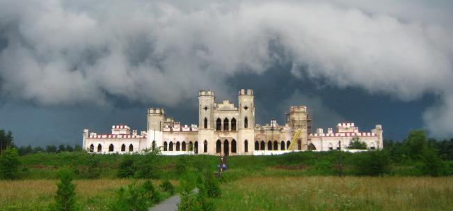Коссово дворец Пусловских