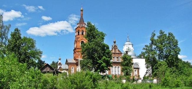 Ново-Загарье Никольская церковь