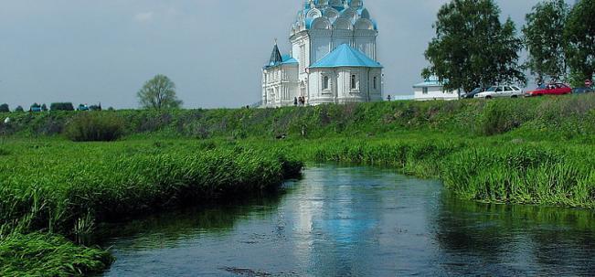 Тайнинское Благовещенская церковь