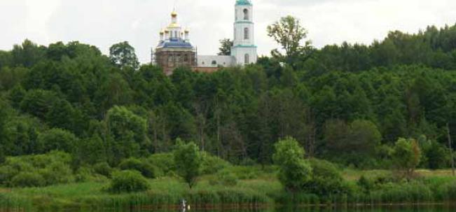 урочище Борисоглеб Казанская церковь
