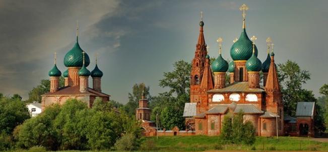 Храмовый комплекс в Коровниках
