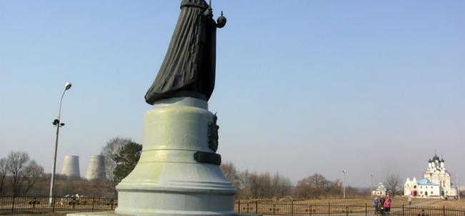 памятник Николаю II в Тайнинском