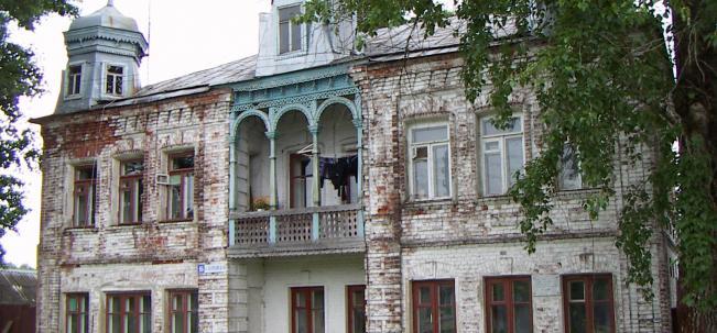 павловский посад дом Сикачева