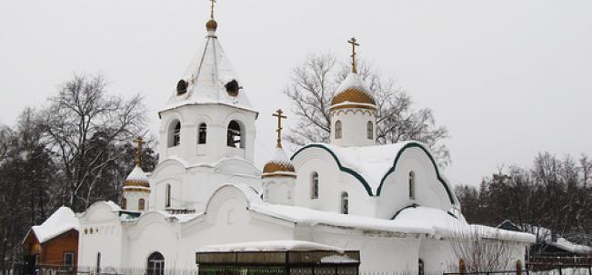 Правдинский Никольская церковь