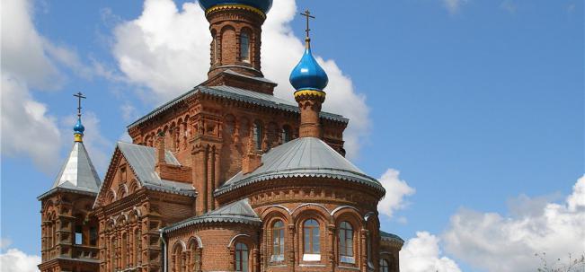 Смогири Николо-Георгиевская церковь