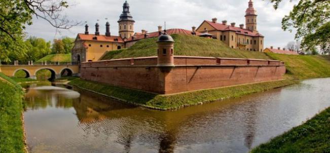 Несвиж замок Радзивиллов