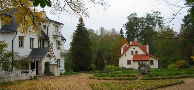Усадьба Поленово Главный дом и Аббатство