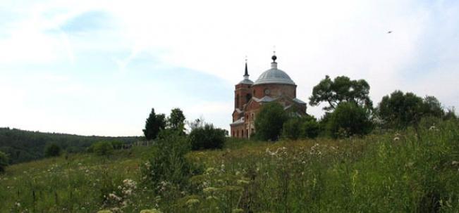Никольская церковь в Николо-Ленивце