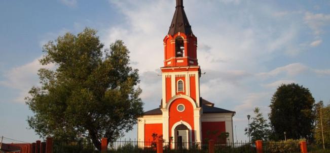 Михайловское - Архангельская церковь