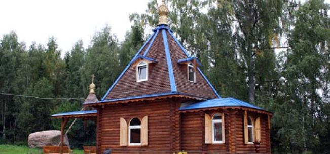"""Лызлово - церковь """"Живительный источник"""""""