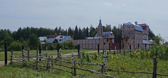 Острово раскольничий монастырь