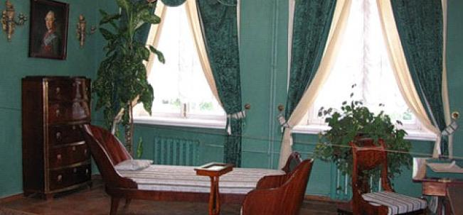 Интерьеры дворца в Богородицке